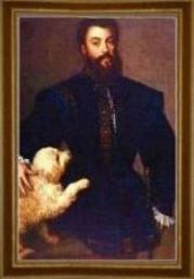 Portrait of Federico II Gonzaga by Titian.